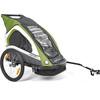 Merida Przyczepka dla dzieci Przyczepka rowerowa z opcją jogging + walking zielony
